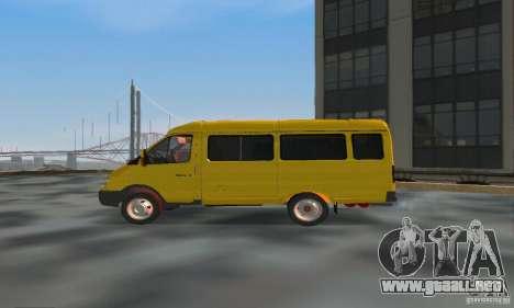 Minibús Gazelle 2705 para GTA San Andreas left