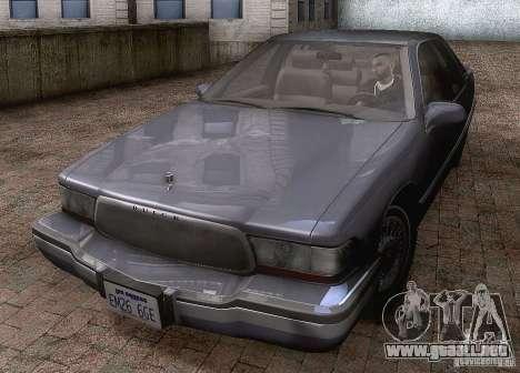 Buick Roadmaster 1996 para GTA San Andreas left