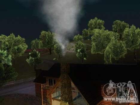 Chimenea en la casa de Toreno para GTA San Andreas tercera pantalla