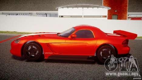 Dodge Viper RT 10 Need for Speed:Shift Tuning para GTA 4 left