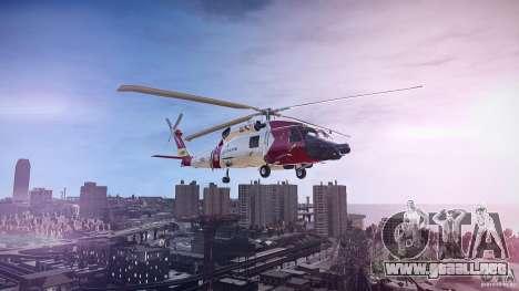 HH-60J Jayhawk para GTA 4 left