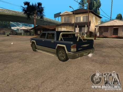 HD Columb para GTA San Andreas left