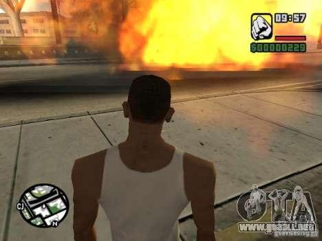 Kyubi-Bomb para GTA San Andreas quinta pantalla