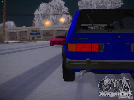 Volkswagen Rabbit GTI para vista lateral GTA San Andreas