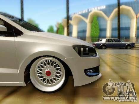 Volkswagen Polo 6R TSI Edit para la visión correcta GTA San Andreas