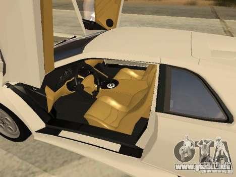 Lamborghini Diablo VT 1995 V2.0 para la vista superior GTA San Andreas