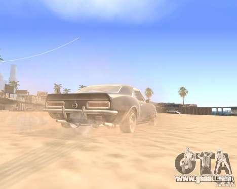 ENBSeries By Krivaseef para GTA San Andreas quinta pantalla