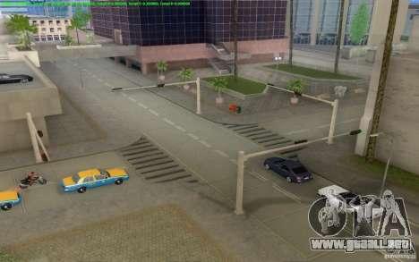 Caminos concretos de Los Santos Beta para GTA San Andreas octavo de pantalla