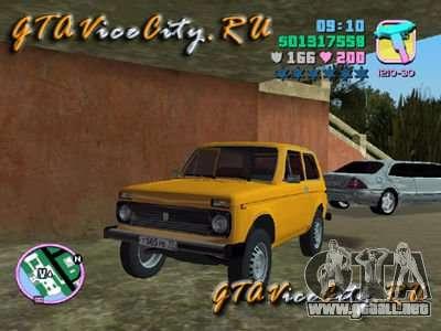 El Niva VAZ 21213 para GTA Vice City