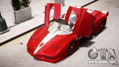 Ferrari FXX para GTA 4 ruedas