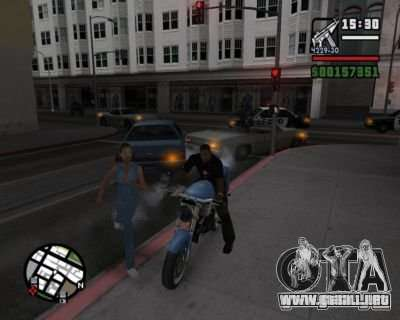 Turn Indicators 2.0 para GTA San Andreas