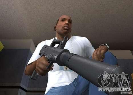 QCW-05 para GTA San Andreas segunda pantalla