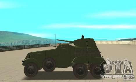 BTR BA-11 para GTA San Andreas left