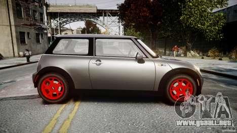 Mini Cooper S para GTA 4 left