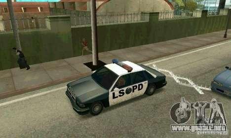 Los clavos en la carretera para GTA San Andreas