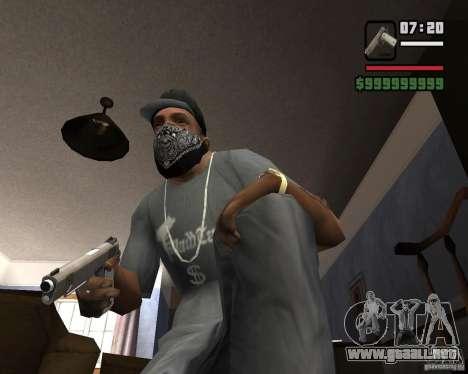 Kimber Desert Warrior para GTA San Andreas segunda pantalla