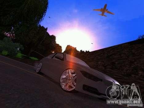BMW 335i F30 Coupe para la visión correcta GTA San Andreas