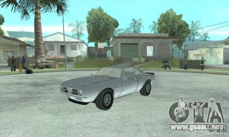 Speedevil de FlatOut para GTA San Andreas left