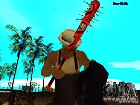 Trollface weapons pack para GTA San Andreas quinta pantalla