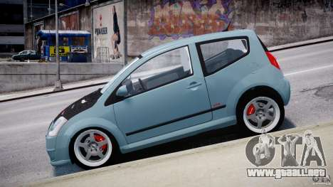 Citroen C2 Light Tuning [Beta] para GTA 4 vista interior