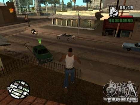 Call of Homies para GTA San Andreas segunda pantalla