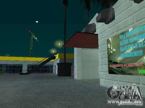 Nuevo showroom en San Fierro para GTA San Andreas séptima pantalla