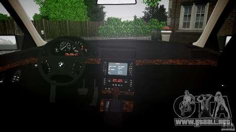 BMW 740i (E38) style 37 para GTA 4 visión correcta