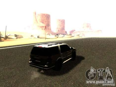 Ford Expedition 2008 para GTA San Andreas left