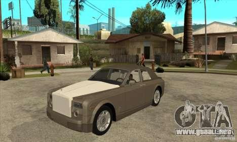 Rolls Royce Coupe 2009 para GTA San Andreas