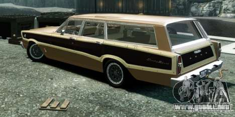 Ford Country Squire para GTA 4 left