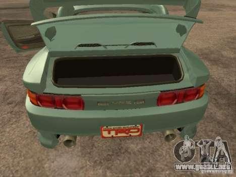 Toyota MR2 1994 TRD para la visión correcta GTA San Andreas