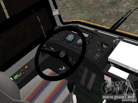 MAZ 152A para GTA 4 vista hacia atrás