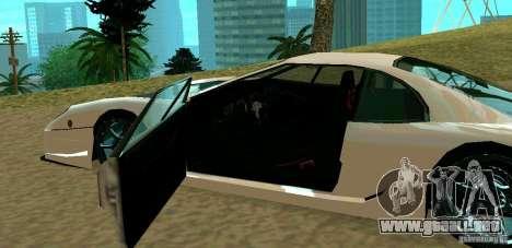 New Turismo para la visión correcta GTA San Andreas