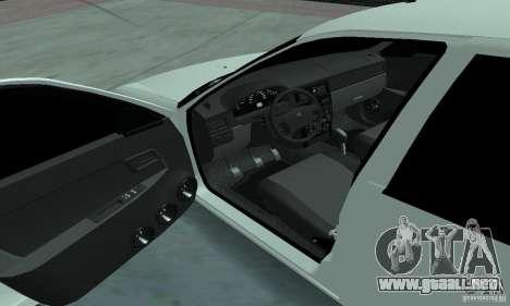 Lada Priora Low para GTA San Andreas vista hacia atrás