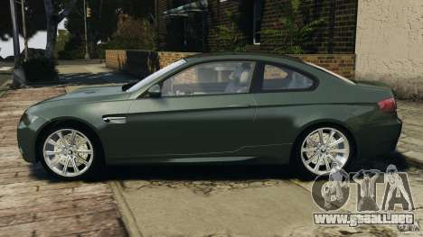 BMW M3 E92 2007 v1.0 [Beta] para GTA 4 left