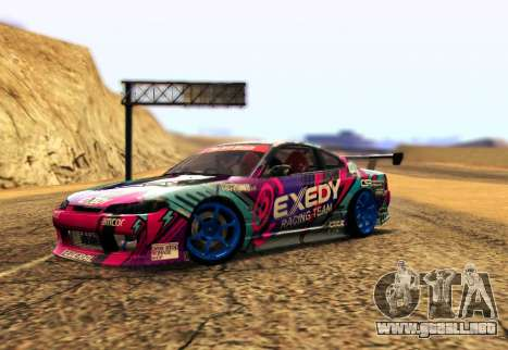 Nissan Silvia S15 EXEDY RACING TEAM para GTA San Andreas