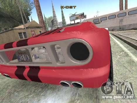 Bullet HQ para GTA San Andreas vista posterior izquierda