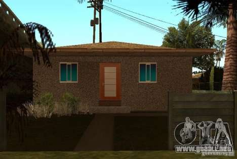 Nuevas texturas de casas en la calle Grove para GTA San Andreas tercera pantalla