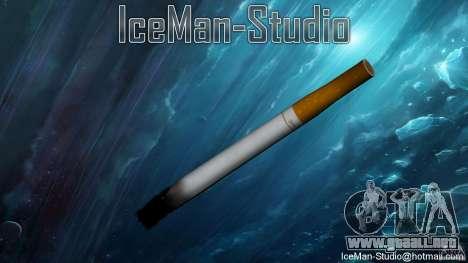 Cigarrillo realista para GTA San Andreas