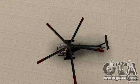AH-6C Little Bird para la visión correcta GTA San Andreas