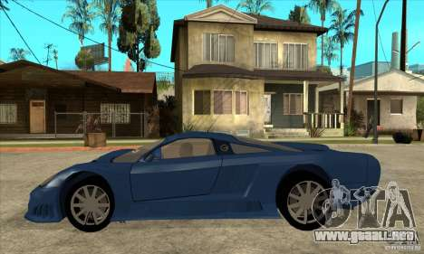 Saleen S7 v1.0 para GTA San Andreas left
