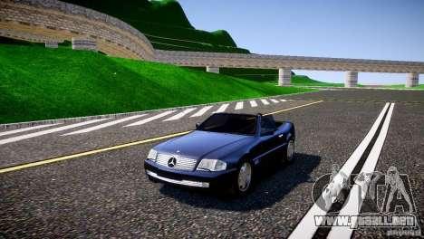 Mercedes SL 500 AMG 1995 para GTA 4