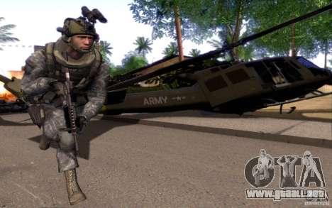 El cabo Dunn para GTA San Andreas