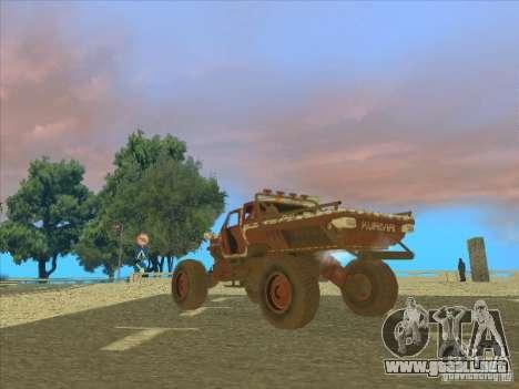 Wingy Dinghy v1.1 para la visión correcta GTA San Andreas