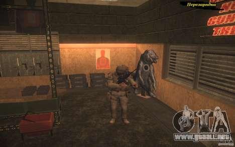 Recarga de armas para GTA San Andreas