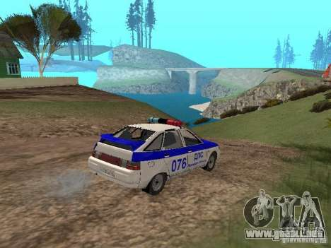 VAZ 21124 DPS para vista lateral GTA San Andreas