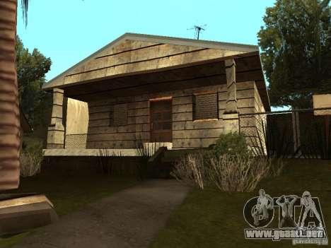 Casas Retekstur en la calle de surco para GTA San Andreas quinta pantalla