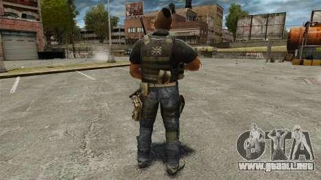El capitán John «4» Mctavish para GTA 4 tercera pantalla