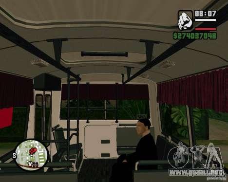 Capacidad para sentarse para GTA San Andreas