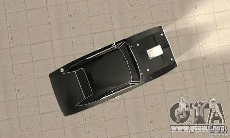 Dodge Charger RT 1970 The Fast & The Furious para la visión correcta GTA San Andreas